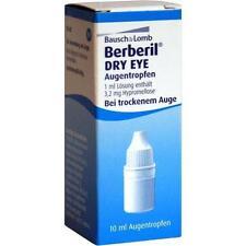 BERBERIL Dry Eye Augentropfen 10ml PZN 1929465
