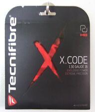 NEW Tecnifibre X-Code HD 16 Tennis String Black