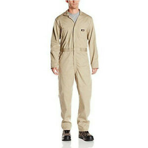 Dickies Deluxe Long Sleeve Coverall, Khaki XLarge