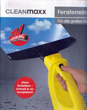 Fensterreiniger Akku Fenstersauger gelb von Cleanmaxx