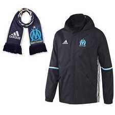 Adidas OM RAIN JKT-Jacket With Matching Scarf One Size Winter Playing Football L