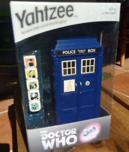 DR Who Collectors YAHTZEE 50th Anniv. Edition,Unopened