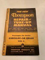 1948 Thompson Repair And Tune Up Manual Cadillac LA Salle Volume 2