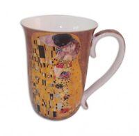 New Fine Bone China The Kiss Coffee Tea Mug w Handle Cup 405cc In Box Gift