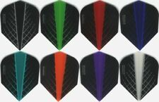 """6 PACK OF HARROWS QUANTUM"" Dart Flights: STANDARD FLIGHTS 6 sets"