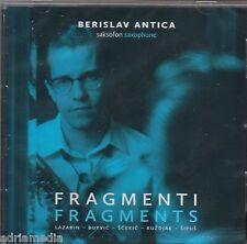 Berislav Antica CD fragmenti Fragment SAKSOFON Saxophone 2014 lazarin Bukvic HR
