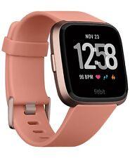 Fitbit Versa Smartwatch Peach/ Rose Gold Aluminum