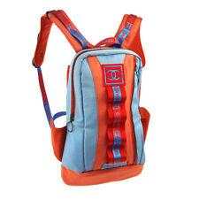 CHANEL Sport Line Hi Summer CC Backpack Bag Red Blue Canvas Suede AK38132c