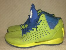 adidas Rose 3 Green/Lime/Satellite Blue/Black G66387 Athletic Sneakers Size 11.5