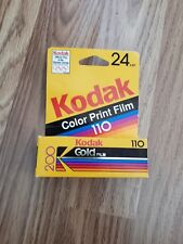 110 Film KODACOLOR Gold 200 ISO 200 24 Exp NIB Expired 09/1993 L1