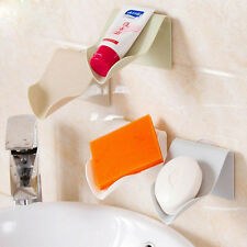 1Pc Travel Bathroom Accessories Drying Drain Soap Dish Holder Shelf Useful