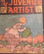 Antique Children's Art Book Juvenile Artist Foundation Library Halloween