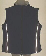 Men's XL navy reflective full zip vest (Clique)