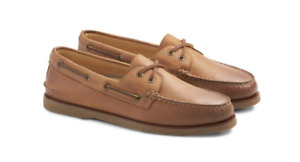 Sperry Gold Cup A/O 2-EYE Tan/Medium Beige Boat Shoe Men's US sizes 7-15/NEW!!!