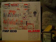PETER BROTZMANN GROUP Alarm LP/1983 FMP/Frank Wright/Alexander Von Schlippenbach