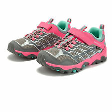 Merrell Chicos Moab FST Low A/C Impermeable Caminar Zapatos Rosa Deporte