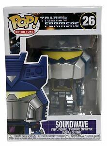 Transformers Soundwave Funko Pop Vinyl Figure Retro Toys 26 Brand New