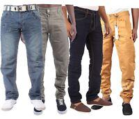 Men's New ETO Jeans Regular Fit Casual Denim Trousers Pants All Waists