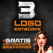 Logo Design Firmenlogo 3x Logoentwürfe Logo Gestalten  Logoerstellung