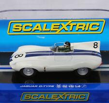 Scalextric C3308 Jaguar D-Type #9 Sebring 12hr 1956 Slot Car 1/32