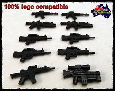 Weapon Lego Compatible, set of 10 Weapons for MINIFIGURES Minifigure as pictured