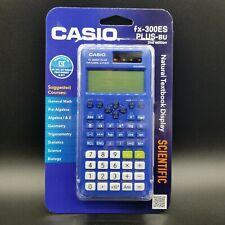 Casio Scientific Calculator FX-300ES PLUS-BU 2nd Edition ACT SAT PSAT **New**