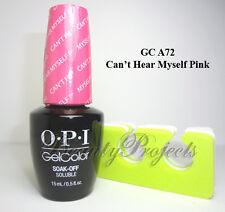 OPI GelColor Soak Off Gel Nail Polish LED/UV 100+ COLORS .5oz 100% Authentic NEW