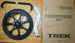 NEW TREK Rocket Jogging Jogger Wheel Conversion Kit Assembly Bike Trailer 78530