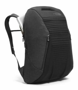 "NEW NWT The North Face Access Pack Backpack - Hard Shell, Black, Fits 15"" Laptop"