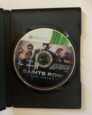 Saints Row el tercer Xbox 360 disco de juego solamente