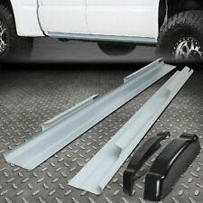 For 01-07 Chevy Silverado Sierra 4Dr Crew Cab Rocker Panels And Cab Corners Kit