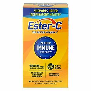 Ester-C Vitamin C, 1,000 mg, 90 Coated Tablets (Immune System Support)