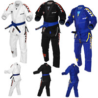 RDX BJJ GI BRAZILIAN Kimono Jiu Jitsu Uniform Suit MMA Grappling Competition US
