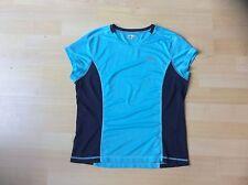 SAUCONY Ladies Classic Blue Training/Fitness Short Sleeved T Shirt, Size: Medium
