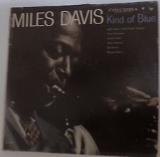 "MILES DAVIS CLASSIC ""KIND OF BLUE"" COLUMBIA  CL 1355 LP 6EYE 1959 US DG MONO"