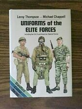 UNIFORMS OF THE ELITE FORCES WORLDWIDE MILITARY COMBAT WAR SPECIAL FORCES BOOK