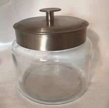 Glass Jar Stainless Steel Lid Clear 20914 Anchor Hocking ?