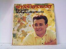 """WYNN STEWART """"IN LOVE / MY OWN LITTLE WORLD"""" 45 / PS  MINT"""