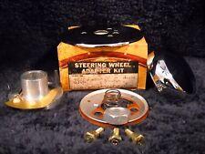 NOS GRANT 3566 Chrome Steering Wheel Horn Kit for 1962-1968 Porsche inc 911&912