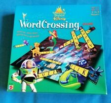 Wonderful World of Disney Word Crossing Game - Mattel Games 2000