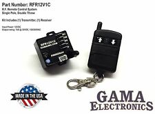 RF Remote Control System - Single Pole, Double Throw Control - RFR12V1C