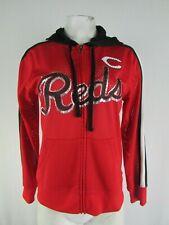 Cincinnati Reds MLB G-III Women's Full-Zip Mesh Hoodie