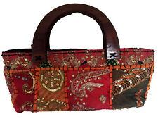 Handbag Cotton Thai Ethnic Style ladies bag evening women weekend Holiday