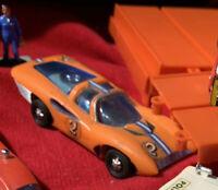 1969 FERRARI Ideal Mini IDEAL Motorific W. Motor SLOT RACERIFIC CAR RARE
