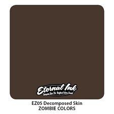 Genuine ETERNA Tattoo Ink-decomposta Skin-Scaduto Ma Nuovo di Zecca 2oz (60ml)