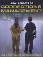 Legal Aspects of Corrections Management by Daryl Kosiak, Michael G. Pearlman and