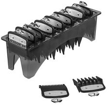 WAHL PREMIUM METAL CUTTING GUARD ATTACHMENT COMB SET - SIZE 0.5, 1.5 & 1-8