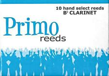 Primo #2.5 Hand Select Bb Clarinet Reeds (Box of 10) BRAND NEW