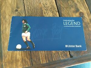 UNCIRCULATED commemorative £5 GEORGE BEST FIVE POUND NOTE WITH ORIGINAL WALLET