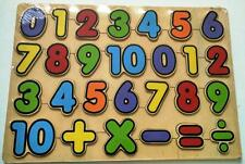 Kids Wooden Puzzles Numbers